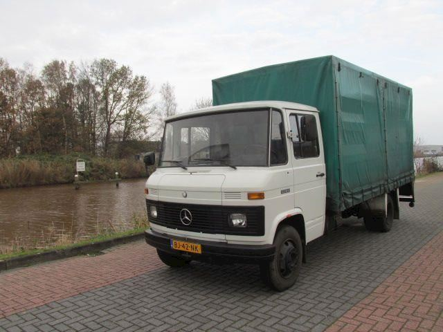 Mercedes-Benz 608 D pick up Gestolen Gestolen 04/07/2015 Beloning