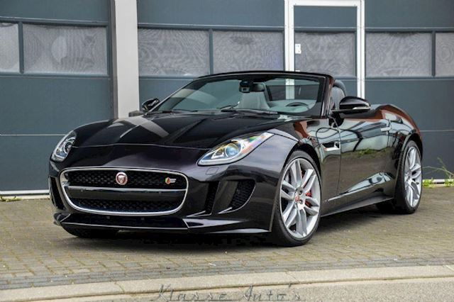 Jaguar F-type cabrio 5.0 V8 S CONVERTIBLE 495pk V8
