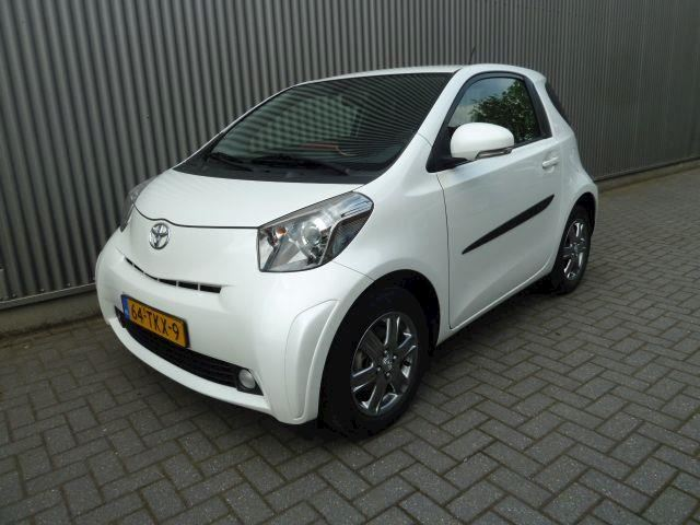 Toyota iQ 1.0 VVTi Aspiration/Airco/Audio/LMV/Wit metalic.