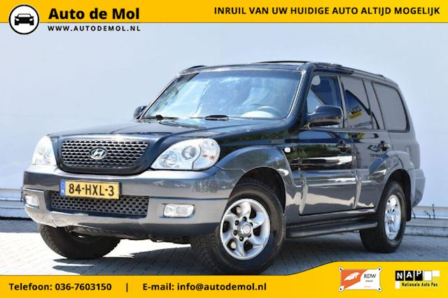 Hyundai Terracan 3.5 V6 Style, 7 persoons, 4x4, airco, automaat