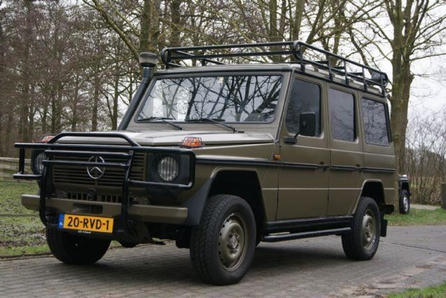 Mercedes Benz G Klasse G Klasse 300 Oldtimer Diesel Uit 1985 Www