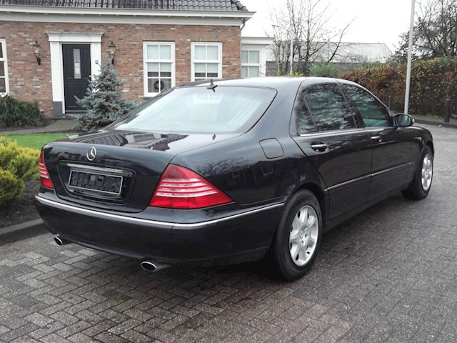 Mercedes-Benz S-klasse 600 Lang Armoured B7/9 Level in Topstaat !