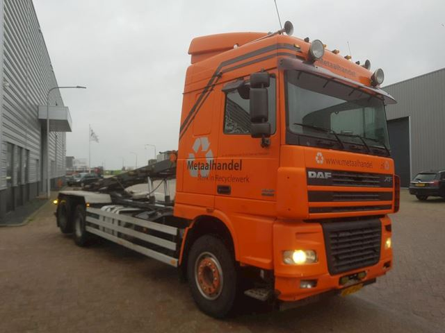 Daf XF 95-430 containerauto