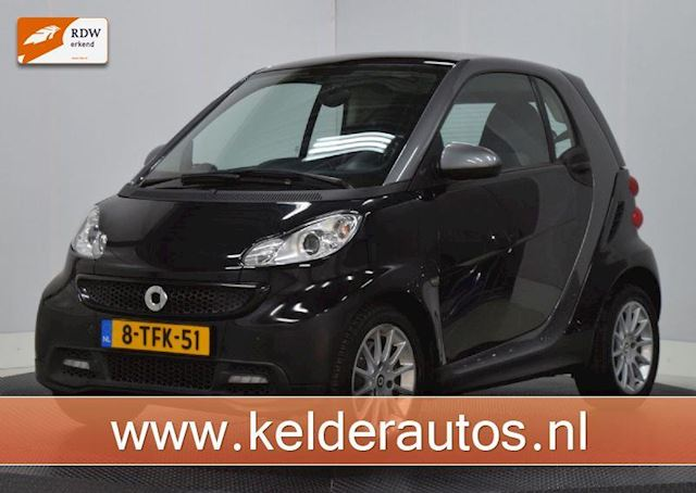 Smart Fortwo fortwo coupé 1.0 mhd Pano, Airco, Lichtmetaal, Automaat