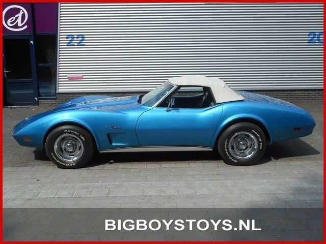 Chevrolet Corvette cabrio C3 4-bak occasion - Big Boys Toys