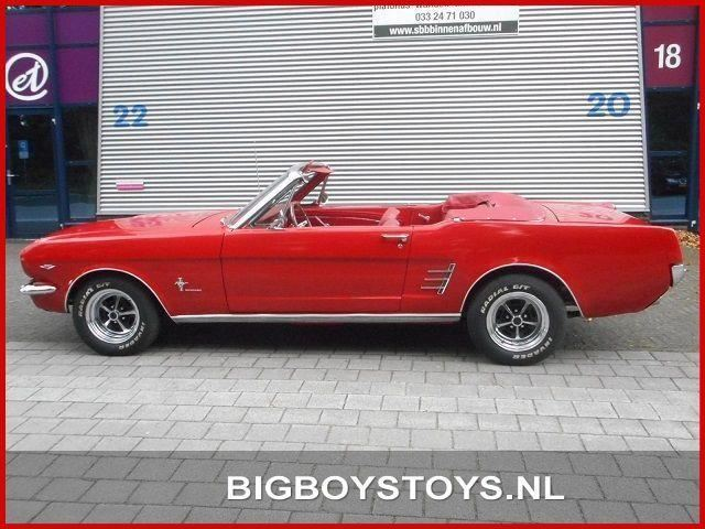 Ford USA Mustang Cabrio V8 aut. occasion - Big Boys Toys