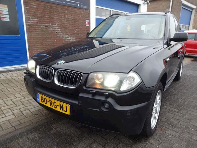 BMW X3 3.0d High Executive NAP, XENON, LEER, AUTOMAAT, TUSSENBAK