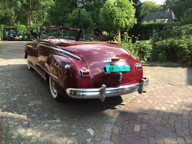 Dodge Dodge 1948 cabriolet fluiddrive Dodge 1948 cabriolet fluiddrive