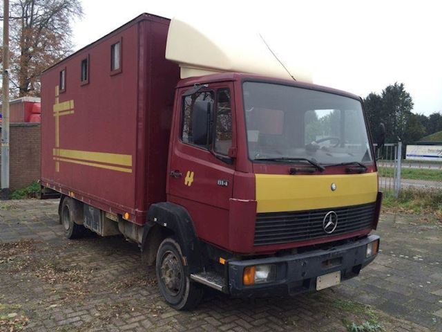 Mercedes-Benz 609 814 box