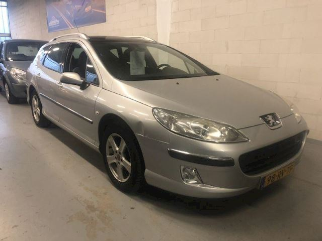 Peugeot 407 SW 2.0-16V XR PANORAMA TREKHAAK ECC CRUISE