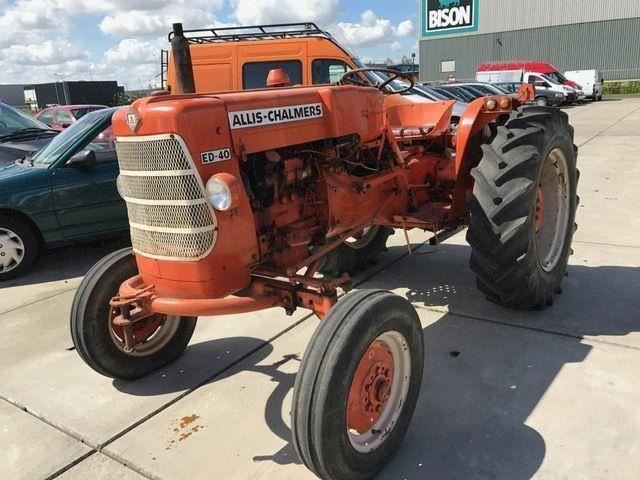 Case ALLIS CHALMERS ED-40