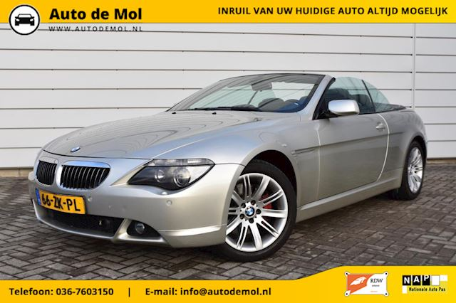 BMW 6-serie Cabrio 650i, SMG, HUD, VOLLL OPTIONS!!!