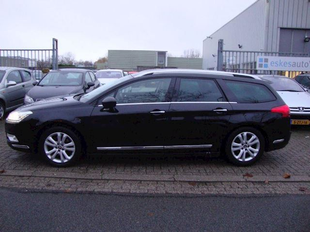 Citroen C5 tourer 1.6thp exclusive Vol leder, Navi, Nieuwstaat