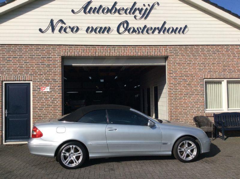 Mercedes-Benz CLK-cabrio occasion - Autobedrijf Nico van Oosterhout