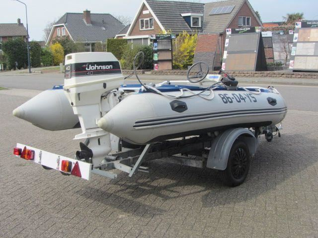 Boot Northstar Snelle Rubberboot + 40 pk Johnson 2-Takt