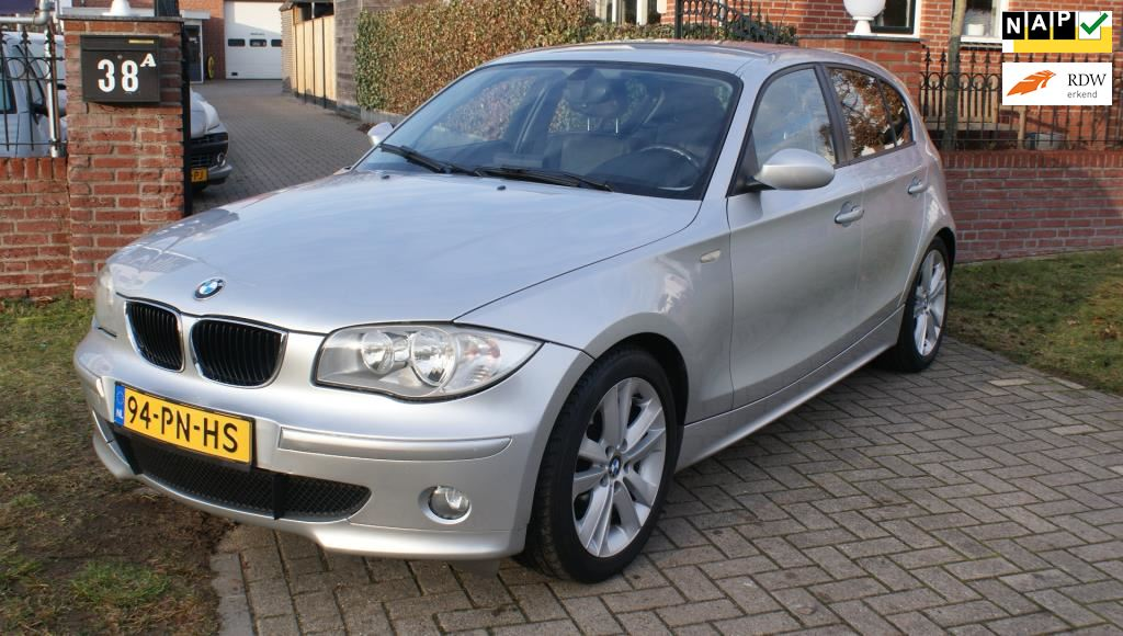 BMW 1-serie occasion - Autoservice Wachtmeester