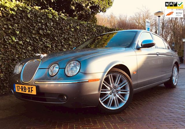 Jaguar S-type 2.5 Executive NAP APK Leder Navi Facelift!