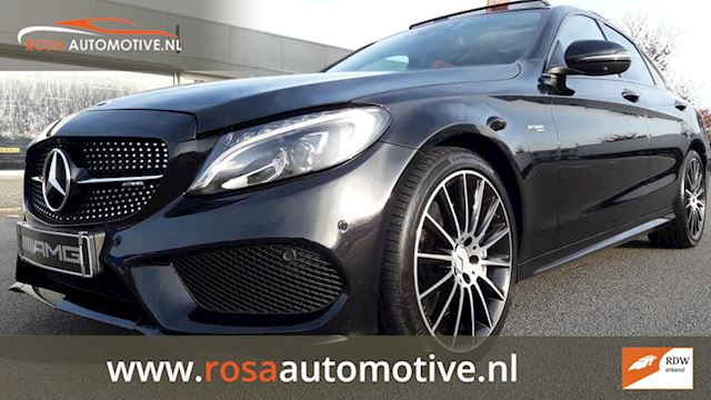 Mercedes-Benz C-klasse C43 AMG 4MATIC 9-GTRONIC PANO HEAD-UP  BURMESTER 360° CAMERA klase klasse 5 INC. BTW