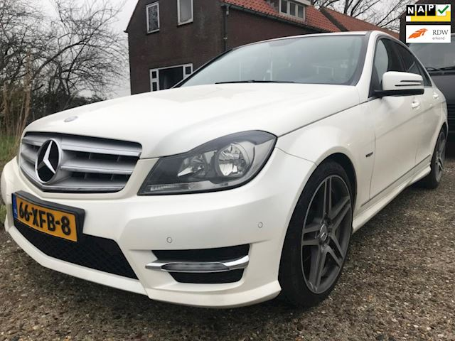 Mercedes-Benz C-klasse 180 Business Class Avantgarde AMG uitv, Full Options, Parelmoer Wit