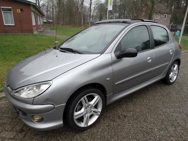 Peugeot 206 1.6 HDiF Griffe FULL OPTIONS! LEDER CLIMA ETC!