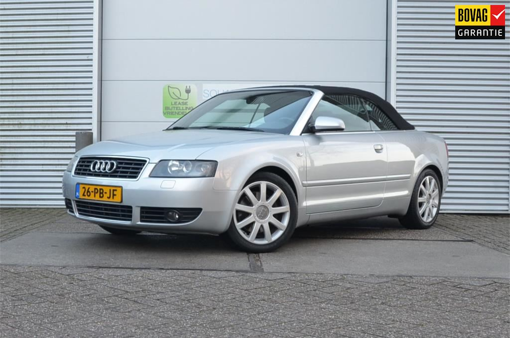 Audi A4 Cabriolet occasion - SQUAB Automotive B.V.