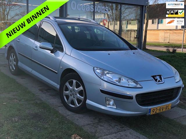 Peugeot 407 SW 1.6 HDiF XR Pack Pano/Cruise/Airco