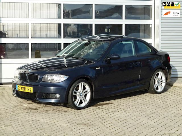 BMW 1-serie Coupé 120d High Executive BJ.2008 OPENDAK | NAVI | BOEKJES.