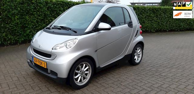 Smart Fortwo coupé 1.0 mhd Passion Airco 69000km NAP Panodak Navi Topstaat!