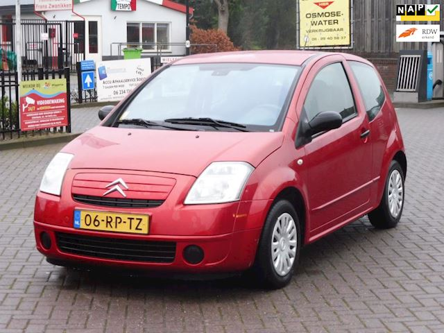 Citroen C2 1.4i Attraction VERKOCHT