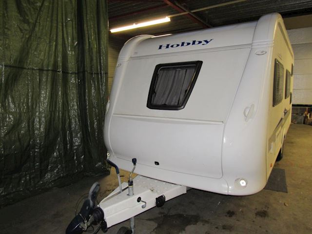 Hobby De Luxe 500 KMFE bj.2011, mover, stapelbed+fransbed 6 persoons