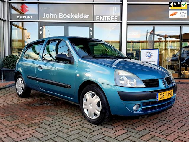 Renault Clio 1.4-16V Dynamique Luxe , Automaat!
