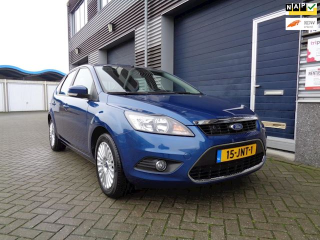 Ford Focus 1.8 Titanium Flexi Fuel //Clima//Cruise//Trekhaak//Stoelverwarming!