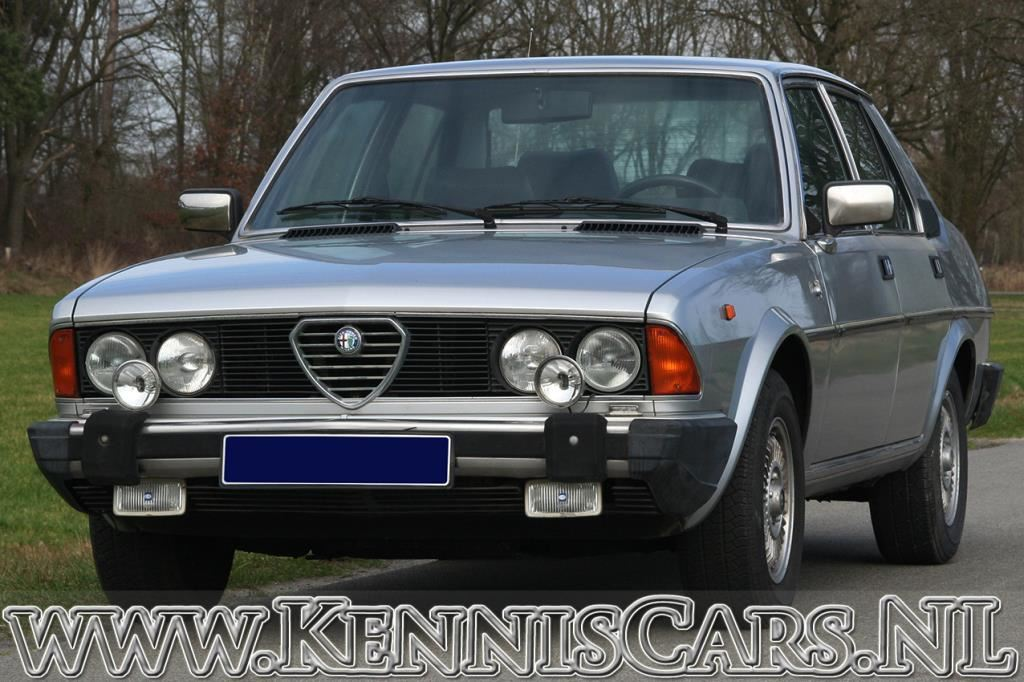 Alfa Romeo 1981 6-2.5 Berlina occasion - KennisCars.nl