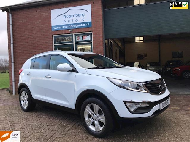 Kia Sportage 2.0 X-ecutive Plus Pack LED-CRUISE-LEER-TREKHAAK