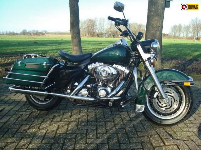 Harley Davidson Road King classic 1450cc prachtstaat.