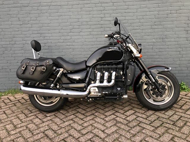 Triumph Chopper Rocket III Touring ABS Koffers 2014 1e eigen.
