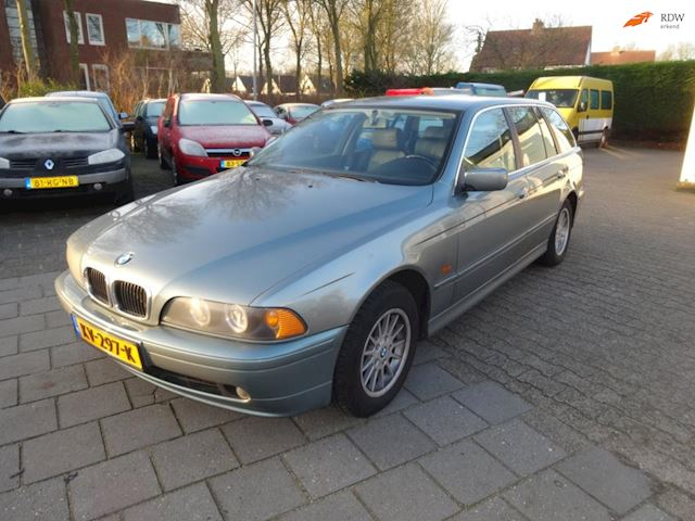 BMW 5-serie Touring 520i Youngtimer AIRCO LEER BOEKJES