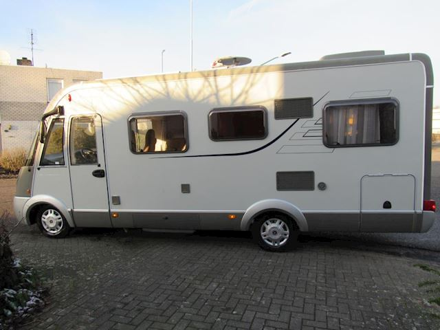 Hymer B 614 CL Automaat Fiat 3.0 dwars+hefbed 2xairco