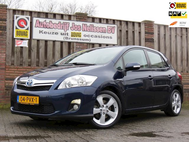 Toyota Auris 1.8 Full Hybrid Executive 1e EIGENAAR | LEDER | NAVI | CAMERA | DEALER ONDERHOUEN |