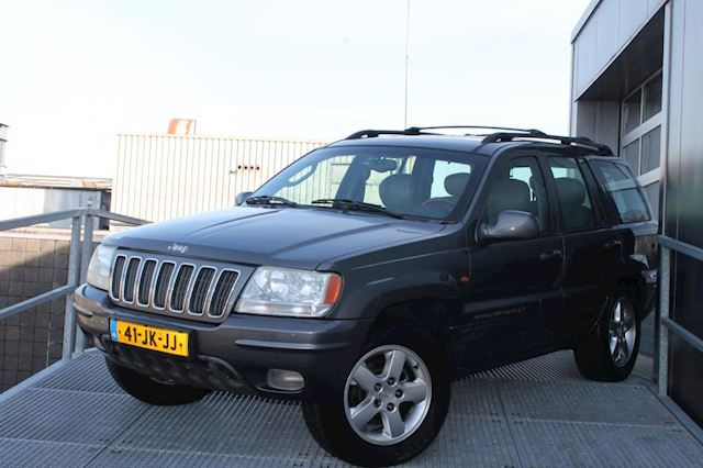 Jeep Grand Cherokee 4.7i V8 Overland High Output Full option met volledig recent onderhoud