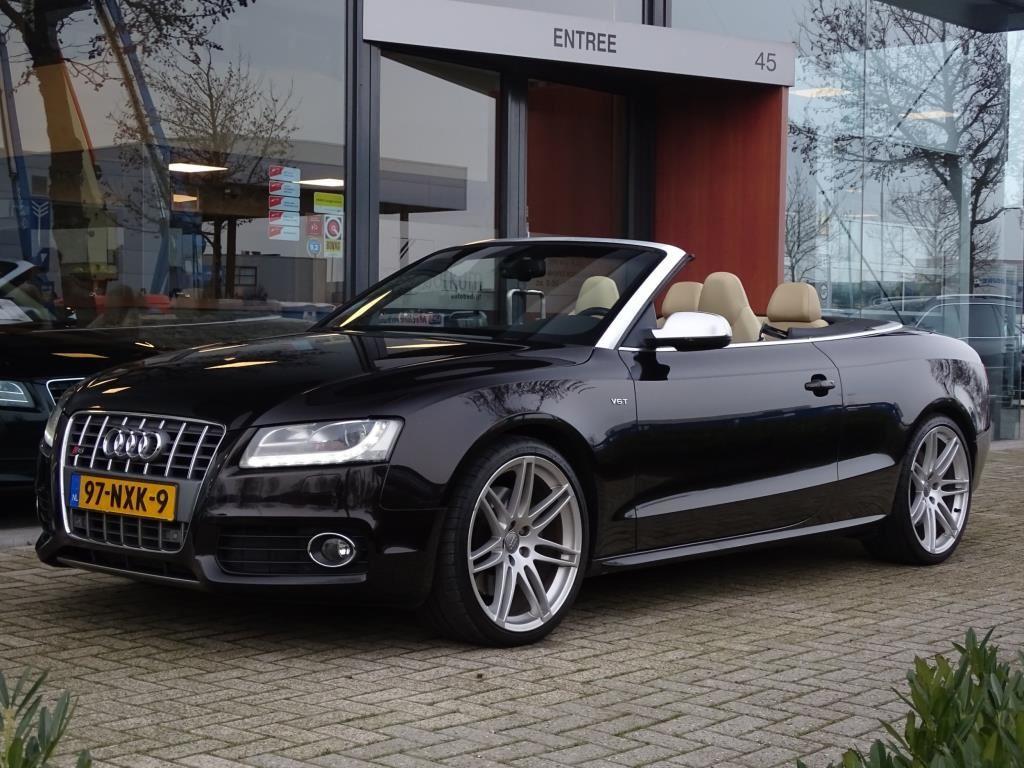 Audi S5 Cabriolet occasion - Autobedrijf van Gorkum
