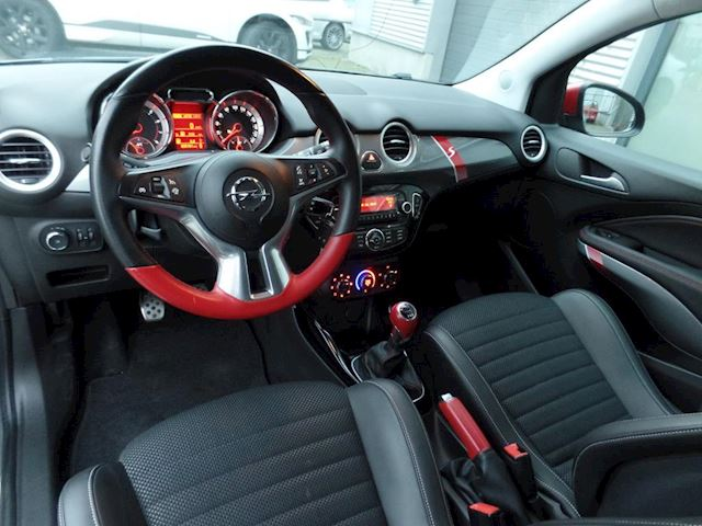 Opel ADAM 1.4 Turbo S Recaro int.+ECC