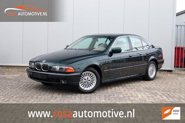 BMW 5-serie 535i Executive unieke Youngtimer Veel Opties Stoelver. Xenon, Leer, Pdc