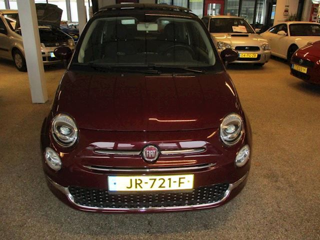 Fiat 500 0.9 TwinAir Turbo Lounge Fiat 500 0.9 Twin air lounge met leder int.elec.dak.navi.enz.n.model