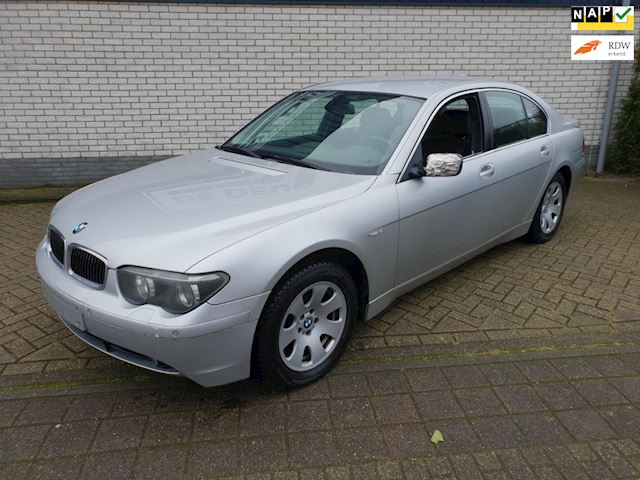 BMW 7-serie occasion - Van Wanrooy Auto's