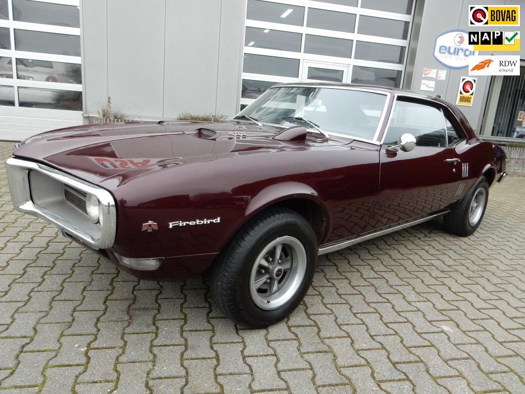 Pontiac FIREBIRD 400CID V8 Aut. occasion - HD USA CARS