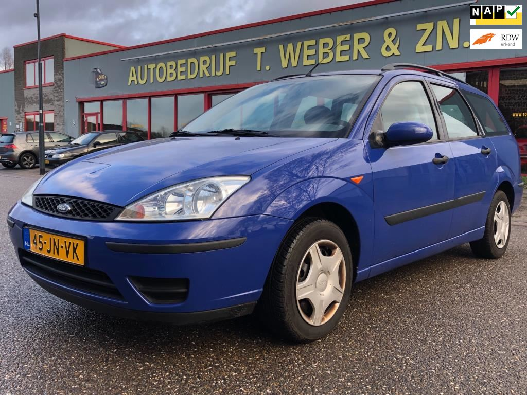 Ford Focus Wagon occasion - Autobedrijf Tommie Weber & zn.