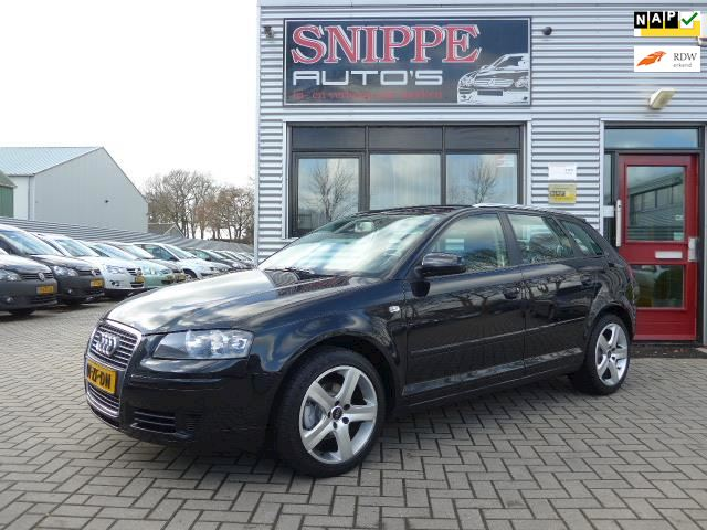 Audi A3 Sportback 1.6 Attraction Pro Line Business -ECC-CRUISE-LEER/ALCANTARA-NAVI-