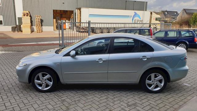 Mazda 6 Sport 1.8i Exclusive Clima Cruise Lm velgen NL Auto NAP Incl nw Apk 02-2020