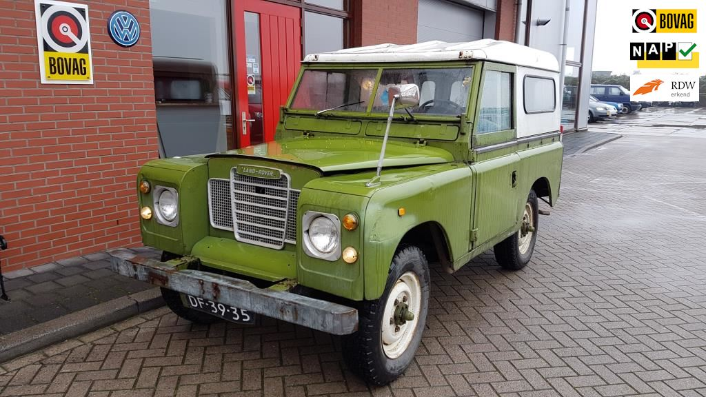 Land Rover 88// METAL TOP occasion - Wester Wognum B.V.